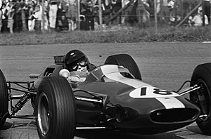 Lotus 25 - Jim Clark at the 1964 Dutch Grand Prix.