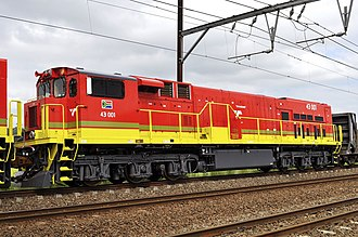 South African Class 43-000 - Image: Class 43 Diesel 43 001