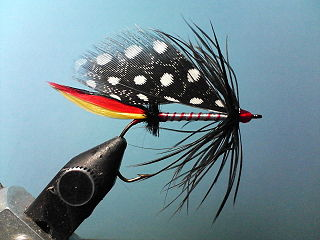 Artificial fly Lure used in fly fishing