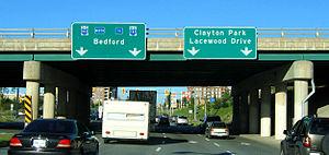 Clayton Park, Nova Scotia - Image: Clayton Park 2 2007