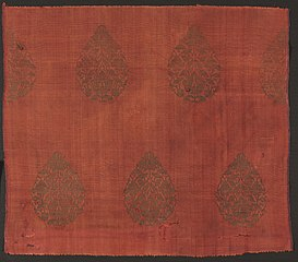 Brocade with Lotus Flowers