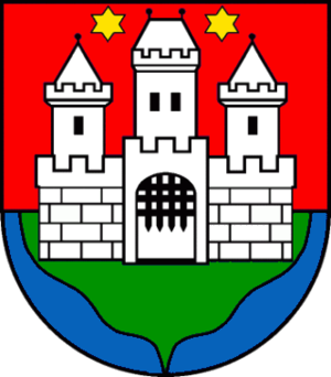 Serbs of Slovakia - Image: Coat of arms of Komárno