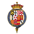 Coat of arms of Thomas Wentworth, 1st Earl of Strafford, KG.png
