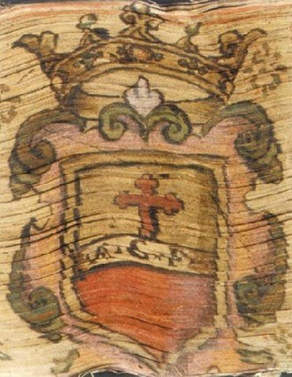 Domenico Lalli - Coat of arms of the Banco della Santissima Annunziata, where Lalli worked from 1700 to 1706