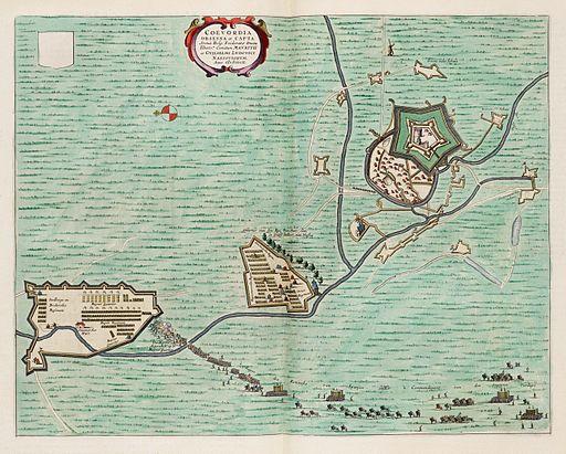 Coevordia Obsessa et Capta - Siege of Coevorden in 1592