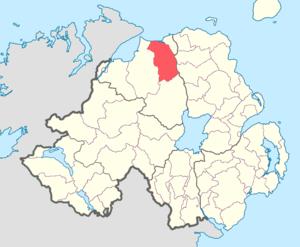 Coleraine (barony) - Image: Coleraine barony