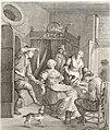 Collection de cent-vingt estampes, gravée d'après les tableaux and dessins qui composoient le cabinet de m. Poullain précédée d'un abrégé historique de la vie des auteurs qui la composent Cette suite (14778422562).jpg
