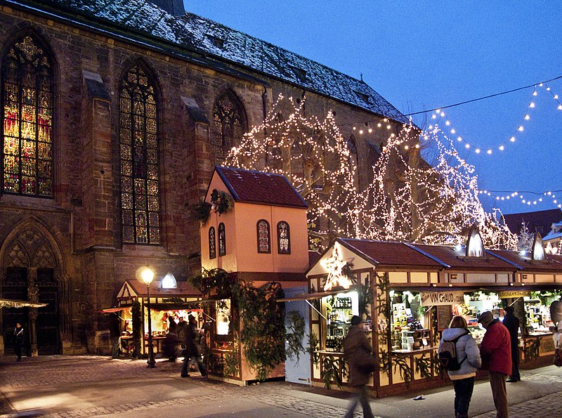 Colmar magical Christmas market