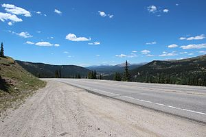 Colorado State Highway 9 - SH 9 near Hoosier Pass