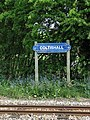 Coltishall Railway Station - sign - geograph.org.uk - 1279113.jpg