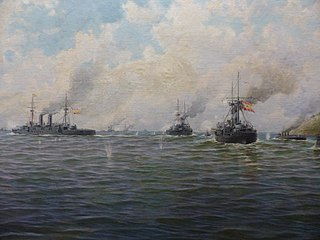 Battle of Santiago de Cuba Naval battle near Santiago de Cuba during the Spanish–American War