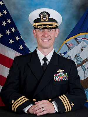 USS William P. Lawrence - Image: Commander Brandon J. Burkett