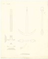 Comparison draught between the anchor design of Perring's, Lt. Roger's, and a new anchor RMG J0539.png