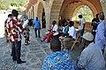 Con la Virgen de Popenguine (Senegal) en Torreciudad 2017 - 45 (35242151795).jpg