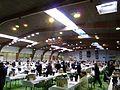 Concours des Vins de Mâcon - tables des jurés Hall A 1.jpg