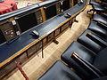 Congreso de los diputados, Salón de Pleno, asientos del Presidente del Gobierno y ministros, Madrid, España, 2015.JPG