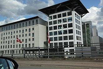 Havneholmen, Copenhagen - Image: Copenhagen Island Hotel (Havneholmen)