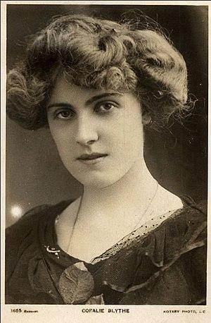 Coralie Blythe - Coralie Blythe in about 1906