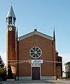 Cornegliano Laudense - frazione Muzza Sant'Angelo - chiesa parrocchiale.jpg