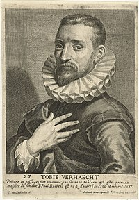 Cornelis van Caukercken, after Otto van Veen - Portrait of Tobias Verhaecht.jpg