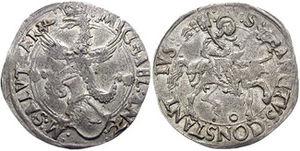 Michele Antonio, Marquess of Saluzzo - Cornuto of Michele Antonio of Saluzzo, from the mint of Carmagnola.