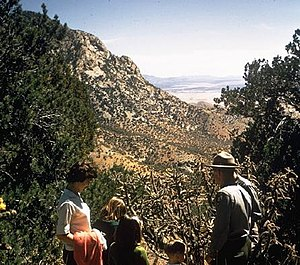 Coronado National Memorial - Visitors at Coronado National Memorial