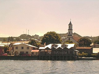 Dalcahue City and Commune in Los Lagos, Chile