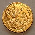 Costantinopoli, solido di eraclio col figlio eraclio costantino, 613-616 dc.jpg