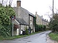 Cottages and lane, east end of Filkins - geograph.org.uk - 304578.jpg