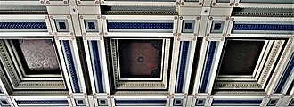 Macclesfield - Council Chamber Ceiling