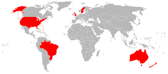 Ross Pearson - Countries where Ross Pearson has competed in as of August 2017