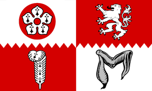 The County Flag of Leicestershire http://www.l...