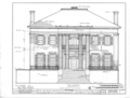 Courtview, 505 North Court Street, University of North Alabama Campus, Florence, Lauderdale County, AL HABS ALA,39-FLO,2- (sheet 5 of 17).png