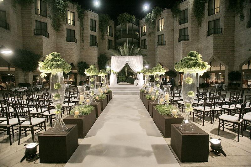 px Courtyard wedding