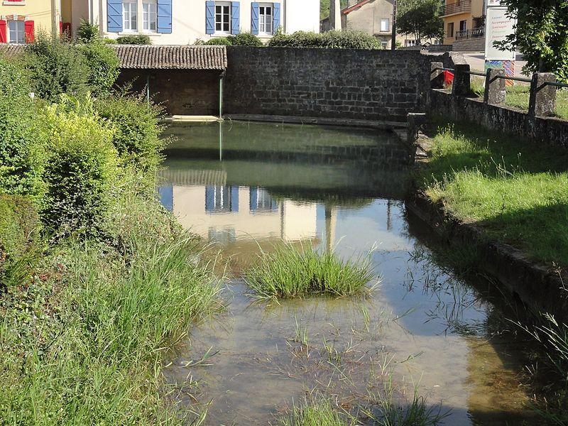 Couvonges (Meuse) étang et lavoir