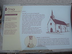 Couy (Cher, Fr), panneau d'information.JPG
