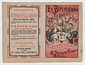 Cover for 'El Brindador Popular', a man raising a toast to a group of people seated around a table MET DP868404.jpg