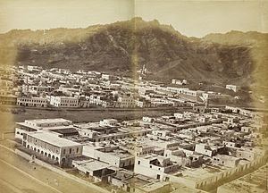 Crater (Aden) - Crater in the mid-1870s.