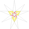 Crennell 43rd icosahedron stellation facets.png