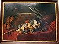 Cristoforo munari, natura morta con strumenti musicali e porcellane, 1700-20 ca..JPG