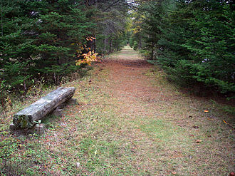 Greenway (landscape) - Image: Cross Vermont Trail Newbury VT 2010 10 22
