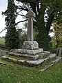 Cross in the churchyard of Rolwestone church - geograph.org.uk - 278571.jpg