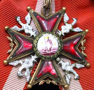 Order of Saint Stanislaus Polish military decoration