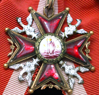 Order of Saint Stanislaus - Image: Cross of Order of Saint Stanislaus