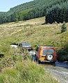 Crossing the Maesnant ford near Moel Prysgau, Ceredigion - geograph.org.uk - 1501667.jpg
