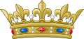Crown of a Royal Prince of the Blood of France (variant).svg