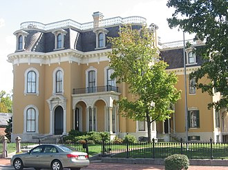 National Register of Historic Places listings in Floyd County, Indiana - Image: Culbertson Mansion front
