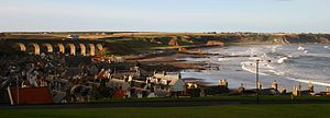 Cullen, Moray - Panorama of Cullen