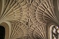 Cullompton, fan vaulting in St Andrew's church - geograph.org.uk - 858632.jpg