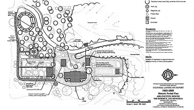 FileCultural history map of the grounds of Arlington House